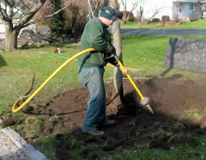 air spading Soil Aeration- Tree Doctors